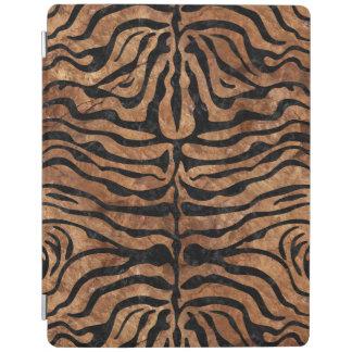 SKIN2 BLACK MARBLE & BROWN STONE (R) iPad COVER