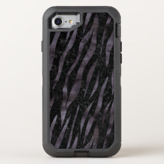 SKIN3 BLACK MARBLE & BLACK WATERCOLOR OtterBox DEFENDER iPhone 8/7 CASE