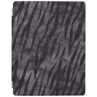 SKIN3 BLACK MARBLE & BLACK WATERCOLOR (R) iPad COVER