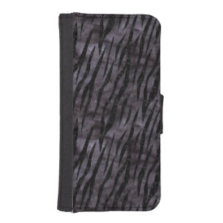 SKIN3 BLACK MARBLE & BLACK WATERCOLOR (R) iPhone SE/5/5s WALLET CASE