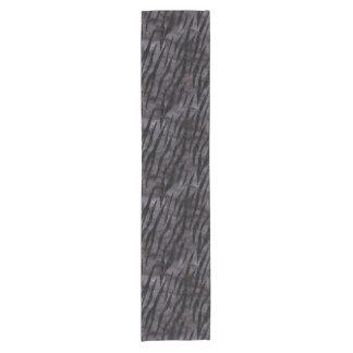SKIN3 BLACK MARBLE & BLACK WATERCOLOR (R) SHORT TABLE RUNNER