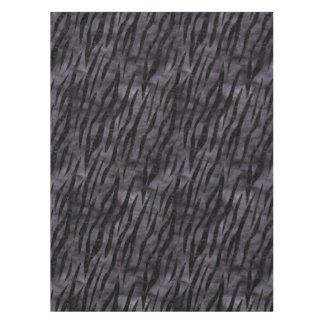 SKIN3 BLACK MARBLE & BLACK WATERCOLOR (R) TABLECLOTH