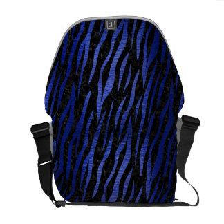 SKIN3 BLACK MARBLE & BLUE BRUSHED METAL COMMUTER BAG