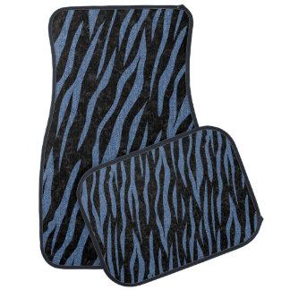 SKIN3 BLACK MARBLE & BLUE DENIM CAR MAT