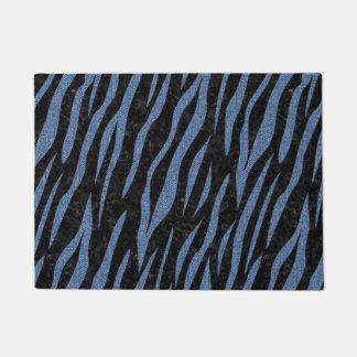SKIN3 BLACK MARBLE & BLUE DENIM DOORMAT