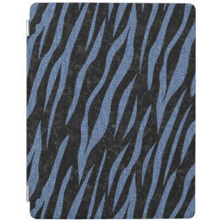 SKIN3 BLACK MARBLE & BLUE DENIM iPad COVER