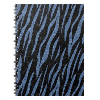 SKIN3 BLACK MARBLE & BLUE DENIM NOTEBOOK