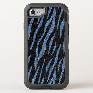 SKIN3 BLACK MARBLE & BLUE DENIM OtterBox DEFENDER iPhone 8/7 CASE