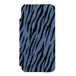SKIN3 BLACK MARBLE & BLUE DENIM (R) INCIPIO WATSON™ iPhone 5 WALLET CASE