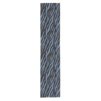 SKIN3 BLACK MARBLE & BLUE DENIM SHORT TABLE RUNNER
