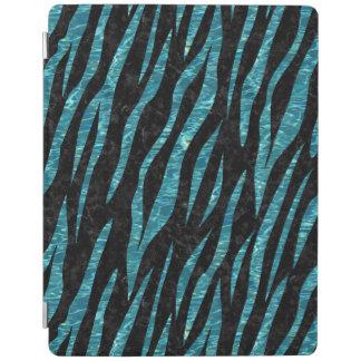 SKIN3 BLACK MARBLE & BLUE-GREEN WATER iPad COVER