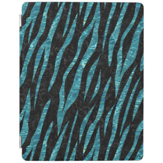 SKIN3 BLACK MARBLE & BLUE-GREEN WATER iPad SMART COVER