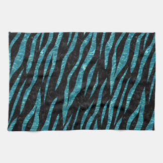 SKIN3 BLACK MARBLE & BLUE-GREEN WATER KITCHEN TOWEL