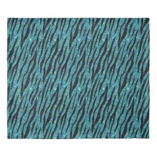 SKIN3 BLACK MARBLE & BLUE-GREEN WATER (R) DUVET COVER