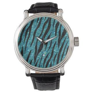 SKIN3 BLACK MARBLE & BLUE-GREEN WATER (R) WATCH