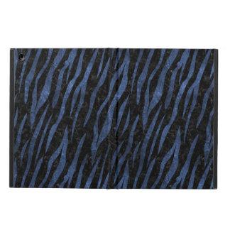SKIN3 BLACK MARBLE & BLUE LEATHER iPad AIR CASE