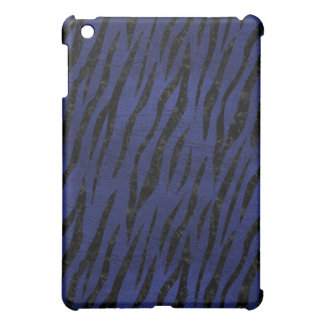 SKIN3 BLACK MARBLE & BLUE LEATHER (R) CASE FOR THE iPad MINI