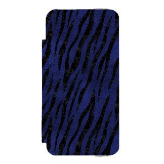 SKIN3 BLACK MARBLE & BLUE LEATHER (R) INCIPIO WATSON™ iPhone 5 WALLET CASE