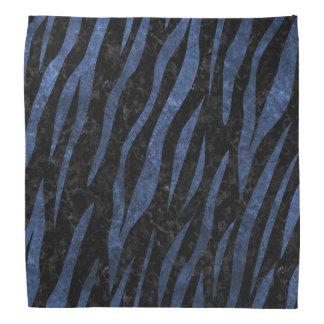 SKIN3 BLACK MARBLE & BLUE STONE BANDANA