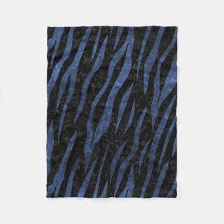 SKIN3 BLACK MARBLE & BLUE STONE FLEECE BLANKET