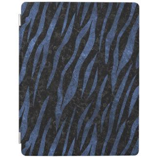 SKIN3 BLACK MARBLE & BLUE STONE iPad COVER
