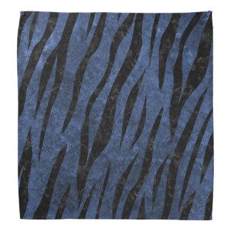 SKIN3 BLACK MARBLE & BLUE STONE (R) BANDANA