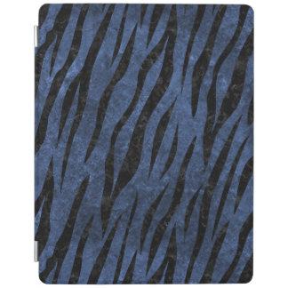 SKIN3 BLACK MARBLE & BLUE STONE (R) iPad COVER
