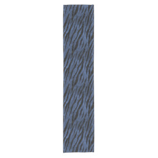 SKIN3 BLACK MARBLE & BLUE STONE (R) SHORT TABLE RUNNER