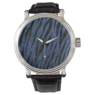SKIN3 BLACK MARBLE & BLUE STONE (R) WRISTWATCHES