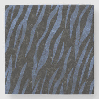 SKIN3 BLACK MARBLE & BLUE STONE STONE COASTER