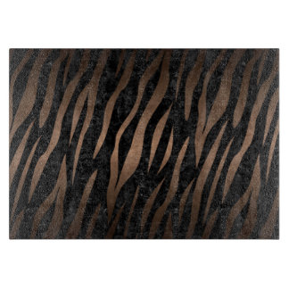 SKIN3 BLACK MARBLE & BRONZE METAL CUTTING BOARD