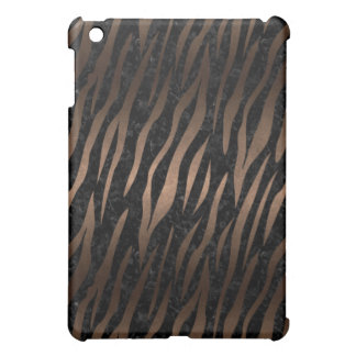SKIN3 BLACK MARBLE & BRONZE METAL iPad MINI COVER