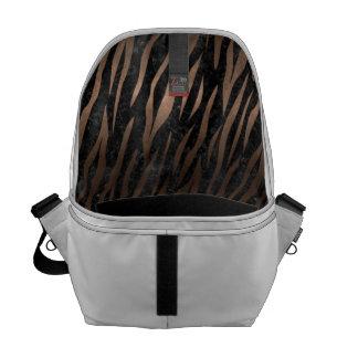 SKIN3 BLACK MARBLE & BRONZE METAL MESSENGER BAG
