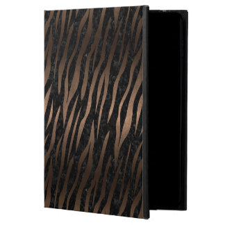 SKIN3 BLACK MARBLE & BRONZE METAL POWIS iPad AIR 2 CASE