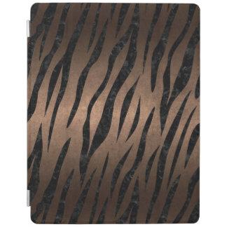 SKIN3 BLACK MARBLE & BRONZE METAL (R) iPad COVER