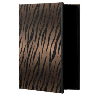SKIN3 BLACK MARBLE & BRONZE METAL (R) POWIS iPad AIR 2 CASE
