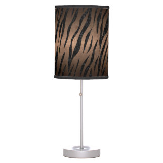 SKIN3 BLACK MARBLE & BRONZE METAL (R) TABLE LAMP
