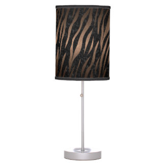 SKIN3 BLACK MARBLE & BRONZE METAL TABLE LAMP