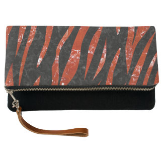SKIN3 BLACK MARBLE & RED MARBLE CLUTCH