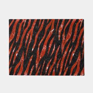 SKIN3 BLACK MARBLE & RED MARBLE DOORMAT