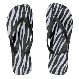 SKIN3 BLACK MARBLE & WHITE MARBLE FLIP FLOPS