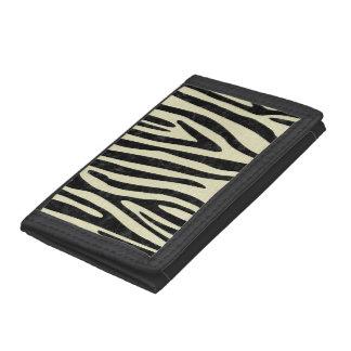 SKIN4 BLACK MARBLE & BEIGE LINEN TRI-FOLD WALLETS