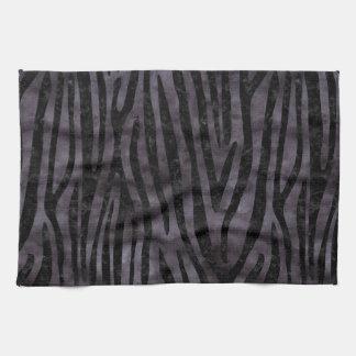 SKIN4 BLACK MARBLE & BLACK WATERCOLOR KITCHEN TOWEL