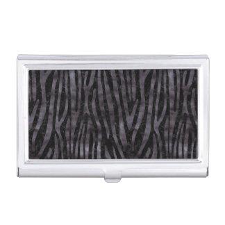 SKIN4 BLACK MARBLE & BLACK WATERCOLOR (R) BUSINESS CARD HOLDER