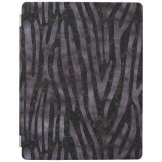 SKIN4 BLACK MARBLE & BLACK WATERCOLOR (R) iPad COVER