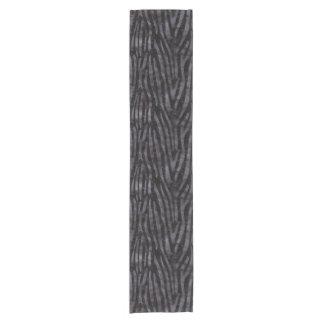 SKIN4 BLACK MARBLE & BLACK WATERCOLOR (R) SHORT TABLE RUNNER