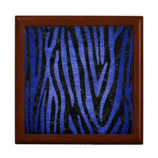 SKIN4 BLACK MARBLE & BLUE BRUSHED METAL (R) GIFT BOX