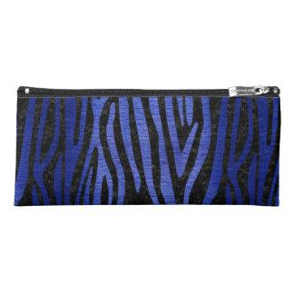 SKIN4 BLACK MARBLE & BLUE BRUSHED METAL (R) PENCIL CASE