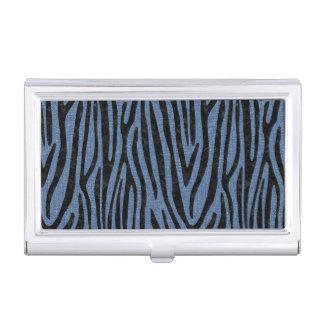 SKIN4 BLACK MARBLE & BLUE DENIM BUSINESS CARD HOLDER