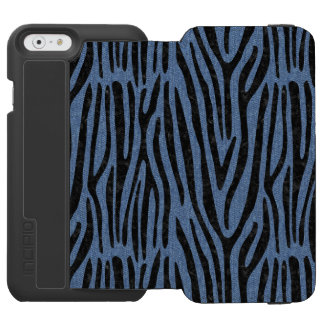 SKIN4 BLACK MARBLE & BLUE DENIM INCIPIO WATSON™ iPhone 6 WALLET CASE